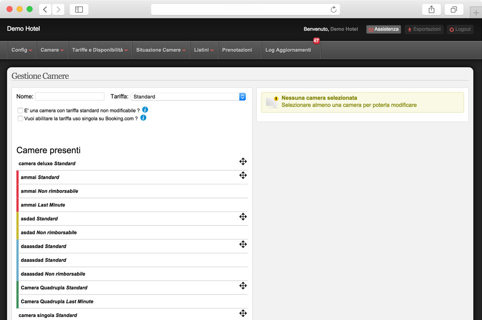 screenshot channel manager